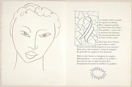 Edição ilustrada por Matisse das «Lettres Portugaises»